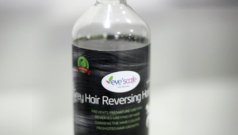 Best Natural Herbal Grey Hair Reverse Hair Oil