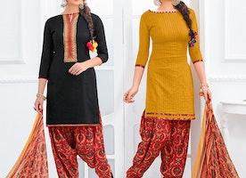 Girls Latest Punjabi Patiala Suits Designs | Shahi Boutique Dress Patiala Salwar Suit Neck Design