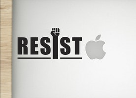Resist - Vinyl Sticker