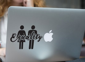 Equality - Feminist Decal /Vinyl Sticker - Car decal - Laptop decal