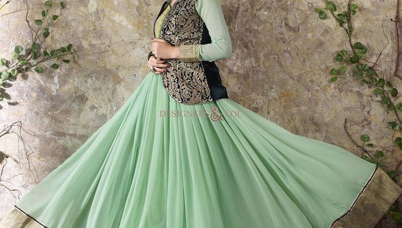 Indian Party Wear Dresses | Latest Designer Anarkali Suits New ...