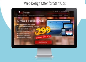 Discount offer on Start Ups Website Design Florida