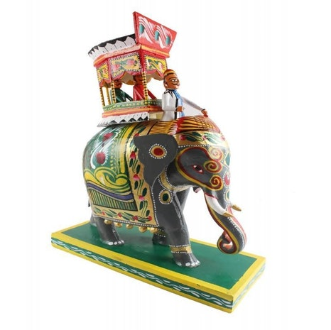 Kondapalli Traditional Ambari Elephant