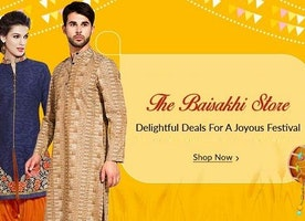 Upto 90% OFF Baisakhi Sale