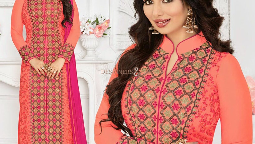 Celebrity Dresses Fashion: Bollywood Salwar Kameez & Bollywood Anarkali Suits Style Gowns Costumes