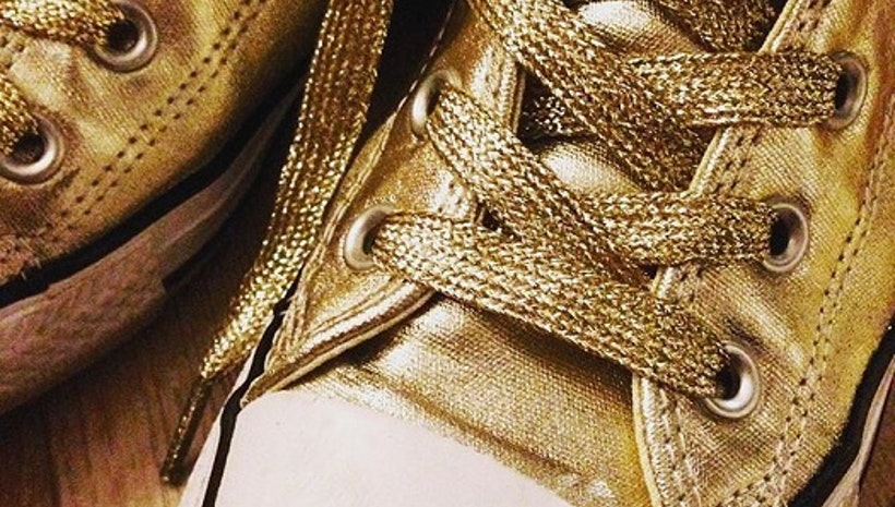 What to know about gold shoelaces?