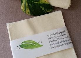 GOTS Certified Organic Cotton /Washcloths