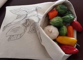 Organic Reusable Food Bags