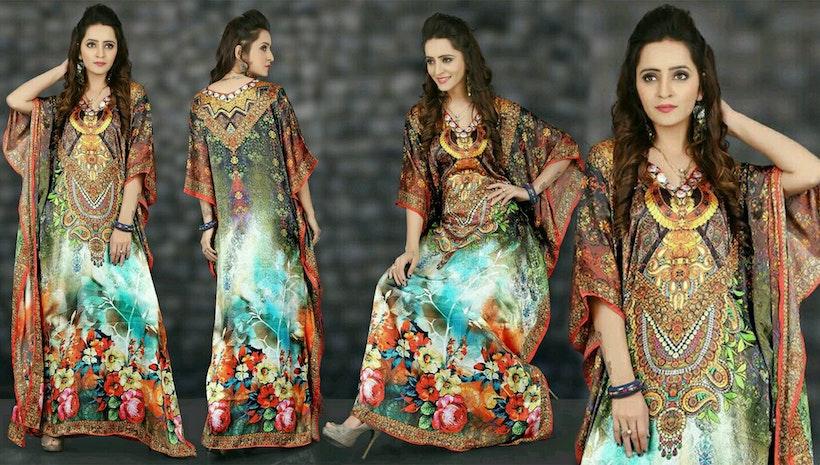 Kaftan Dress Design | Long Kaftan Tops & Maxi Style Modern Pattern Boutique Kaftans Shop Online Sale