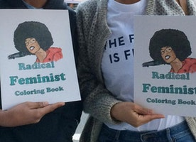 Radical Feminist Coloring Book