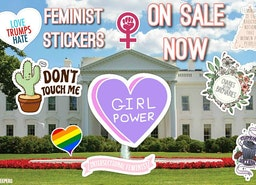 Feminist Sticker Pack | Liberal/Democratic | Social Justice | Girl Power