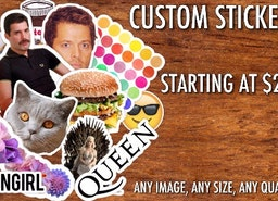 Custom Stickers | Custom Labels | Personalized | Any Size