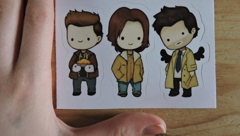 Supernatural Team Free Will Sticker
