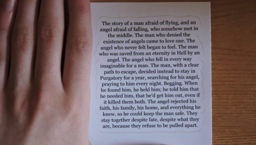 Supernatural: Destiel, Best Love Story Ever Sticker