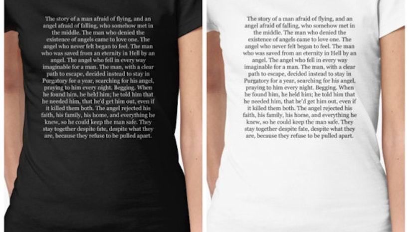 Supernatural: Destiel, Best Love Story Ever Shirt