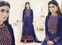 Bollywood Designer Dresses Designs: Celebrity Style Pakistani Straight Cut Salwar Kameez Suits 2017