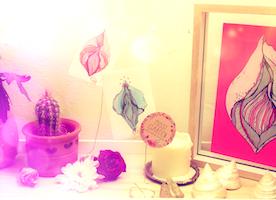 Vulva - Labia Art, Feminist Artwork, Sexpositiv, Emanzipation, My body my rules