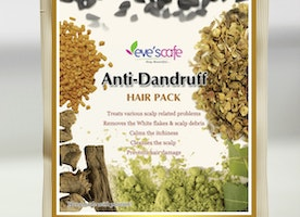 Get Rid of Dandruff from Evescafe Anti Dandruff Hair Pack
