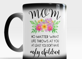 Funny Mothers Day gift from Daughter and Son