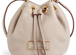 'Too Hot to Handle' Leather Drawstring Bag From Marc By Marc Jacobs