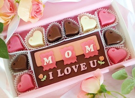 Mother's Day Chocolates that spell out how much you love Mom