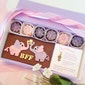 Best Friends Elephant Chocolates with Sweet Gold or Silver Daisy Charm