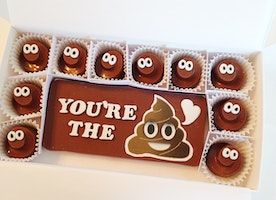 Poop Emoji Chocolates Make A Fun Birthday or Gag Gift