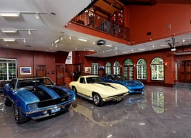 The Most Luxurious Garages In The World