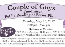 "New Web Series Pilot ""Couple of Guys"" Holding Fundraiser & Table Read Monday, May 15th at Bellmore Movies"