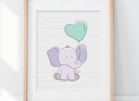Cutest Baby Room Art - Get Yours Now!