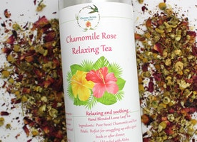 Calming Chamomile Rose Herbal Tea