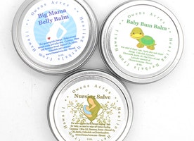 Herbal Salves for Mom and Baby