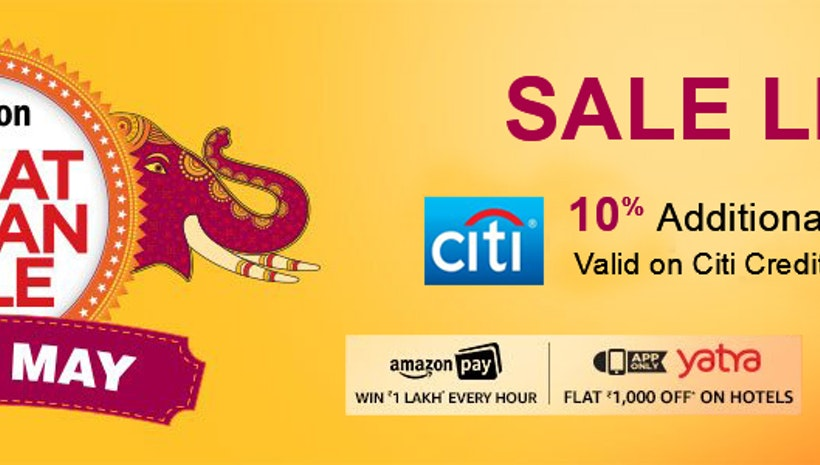 Great Saving with Amazon Great Indian Sale 2017
