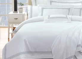 How to put quilt cover on quickly