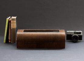 Modern wooden exclusive watch box