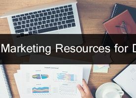 Which are top Marketing Resources for Dealers?
