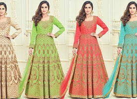 Bollywood Heroines Gown Dresses   2017 Latest Bollywood Fashion Trends Celebrity Style Suits Designs