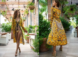 Thalassa Boom Resort Wear - Luxury Swimwear - Designer Cover Ups - Lookbook 34