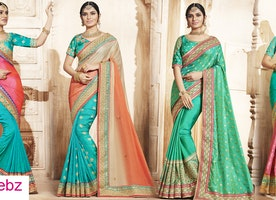 The glamour of Indian wedding sarees!!