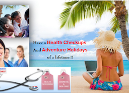 Goa, Top Destination for Malawi, Sudan, Congo, Angola & Chad patients to combine Health Checkups with Adventure Holidays