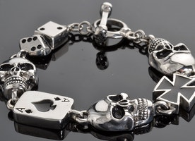 The Biker Jewelry  is an excellent fashion statement
