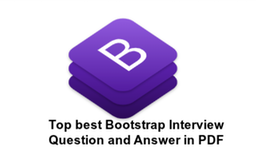 Bootstrap Interview Questions PDF Download