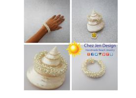 Bridal bracelet pear, Bridal pearl bracelet, Chunky bracelet, Pearl bracelet, bold jewelry, Silver bracelet, Handmade jewelry, sparkle pearl