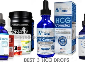 Lose weight up to half a kilo per day with HCG Drops
