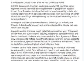John Kerry's reaction to President Trump's withdrawal from the Paris agreement sums up what I'm feeling