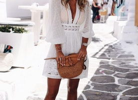 How to Wear White this Summer