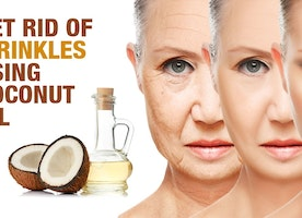 Get Rid of Wrinkles by using Coconut Oil Regularly