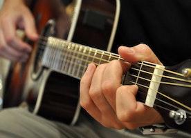 Pleasure of playing guitar
