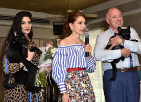 First Catwalk For Canines Benefit Southampton Animal Shelter