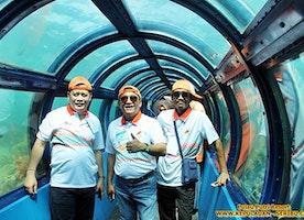 Under Sea Aquarium Pulau Putri Island - Tour Pulau Seribu Island Resort
